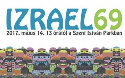 Vasárnap Izrael függetlenségét ünnepeljük a Szent István Parkban