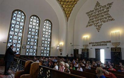 A Hősök zsinagógában kezdődött el az idei Judafest