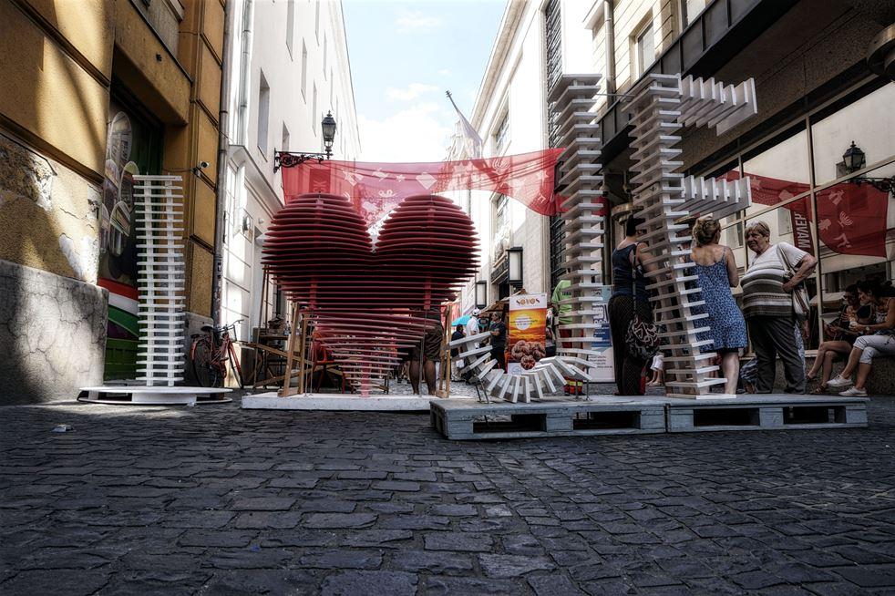 Ismét megtelt élettel a Kazinczy utca és környéke a Judafesten