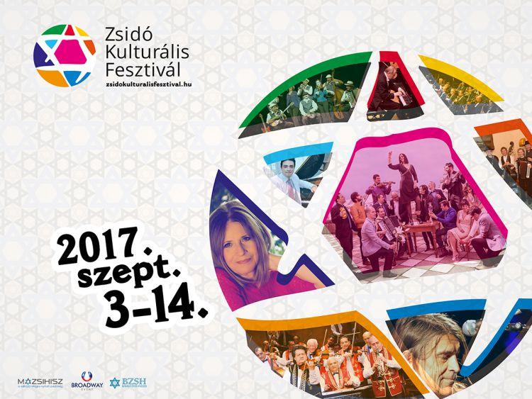 Szeptember harmadikán kezdődik az idei Zsidó Kulturális Fesztivál