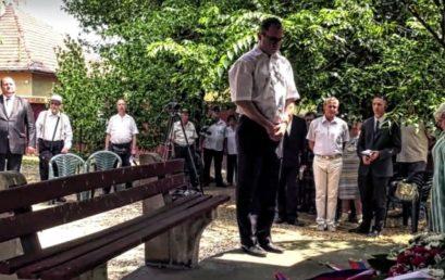 A holokauszt áldozataira emlékeztek Csepelen