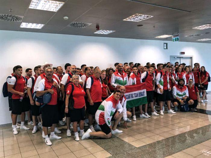 Az eddigi legnagyobb magyar delegáció utazott el az idei Maccabi Világjátékokra