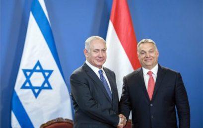 Jeruzsálemben ül tárgyalóasztalhoz Benjamin Netanjahu és Orbán Viktor csütörtökön