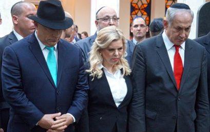 A Dohány zsinagógában járt Benjamin Netanjahu és Orbán Viktor