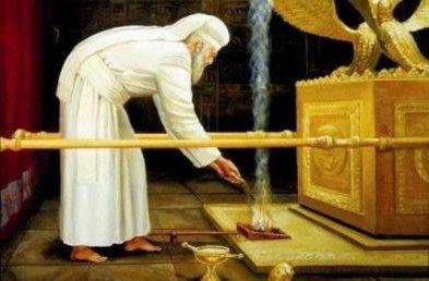 Áchré Mot hetiszakaszunk, amely leírja a jom kippuri szertartás lényegét