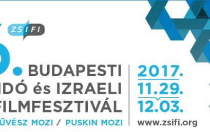 Szerdán kezdődik a hatodik Budapesti Zsidó Filmfesztivál