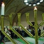 Hanuka első estéjén ismét vallási élet töltötte be a Dózsa György úti zsinagógát