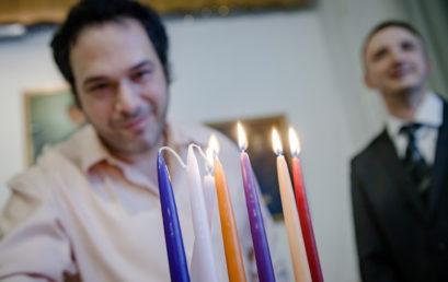 Dél-Pesten is megünnepelték a Hanukát