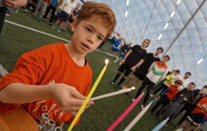 Ismét focitornát tartottak Hanuka ünnepének tiszteletére