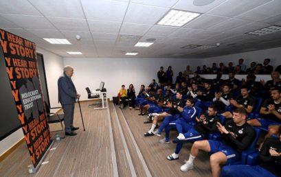 A Chelsea labdarúgói is az antiszemitizmus ellen küzdenek