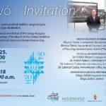 Meghívó az Élet Menete kiállítás megnyitójára