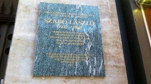 Emléktáblát kapott Szabó László sakkolimpikon