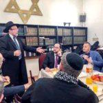 Tanítások, rabbinikus áldás a Bethlen téri zsinagóga halvacsoráján