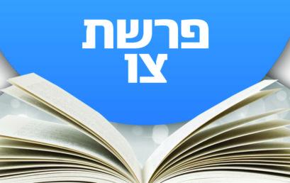 Következő hetiszakaszunk: Cáv (צַו)