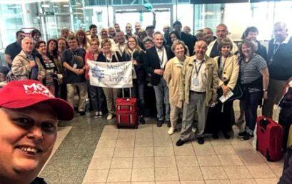 Szépszámú magyar delegáció utazott el az izraeli Élet Menetére