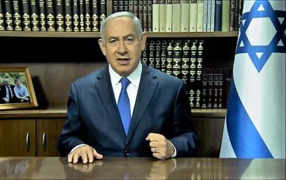 Netanjahu: a huszonegyedik században az antiszemitizmus betegsége továbbra is fertőz és terjed