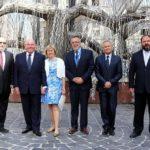 Az Amerikai Egyesült Államok új budapesti nagykövete a Dohány utcai zsinagógában járt