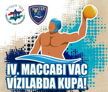 Vasárnap ismét Maccabi vízilabda kupa a Tüzér utcában