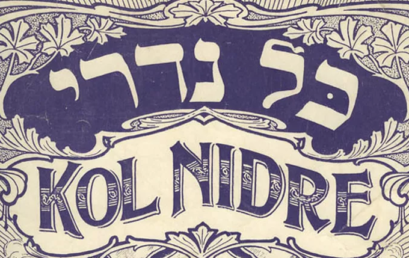 Ma este felhangzik egyik legszebb imánk, a Kol Nidré