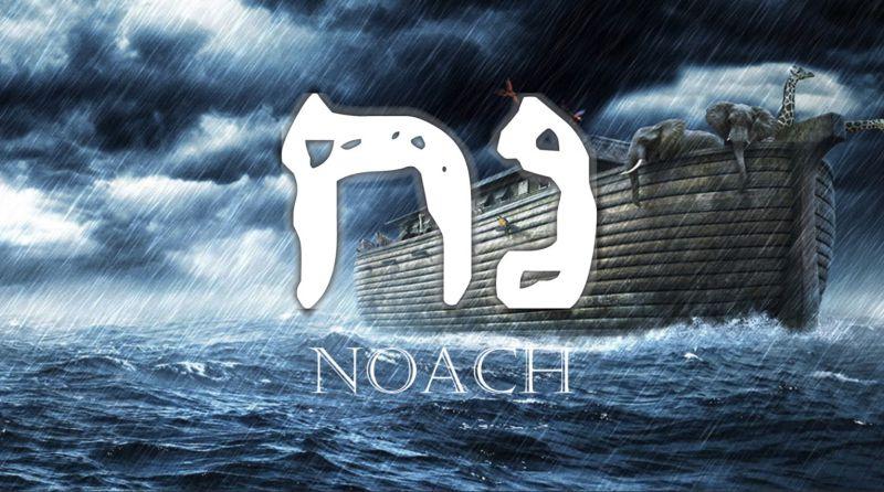 Következő hetiszakaszunk:  Noách (נֹחַ)