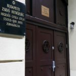 Konferencia a Hegedűs Gyula utcai zsinagógában
