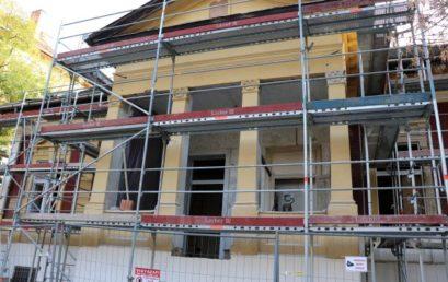 Szépen haladnak a zuglói zsinagóga felújításával