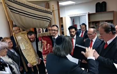 Felavatták a Dél-Pesti körzet új zsinagógáját