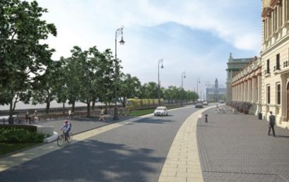 Jeruzsálemről neveznek el egy parkot Budapesten