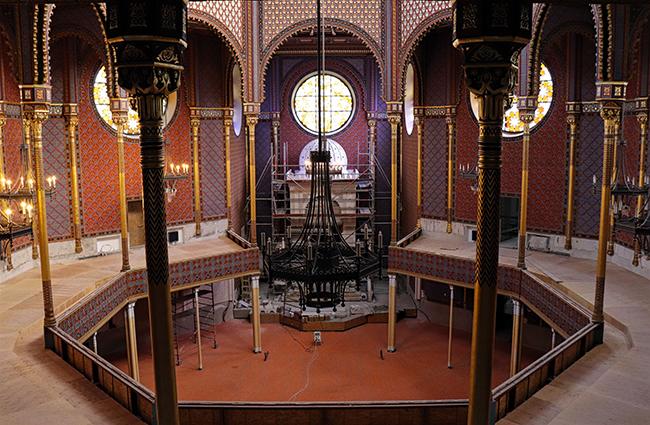 Megfelelő ütemben halad a Rumbach zsinagóga felújítása