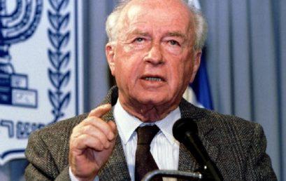 Huszonöt éve ölték meg Izrael miniszterelnökét