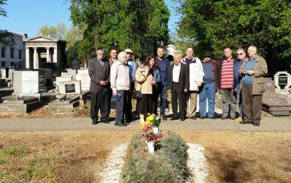 Bandi Lászlóra emlékeztünk a Kozma utcai temetőben