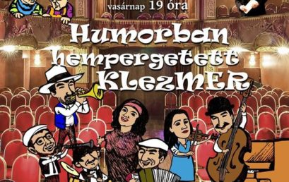 Április végén Humorban hempergetett klezmer az Operettszínházban