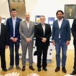 A 15. Maccabi Játékokról tartott beszámolót Deutsch Tamás a Síp utcában