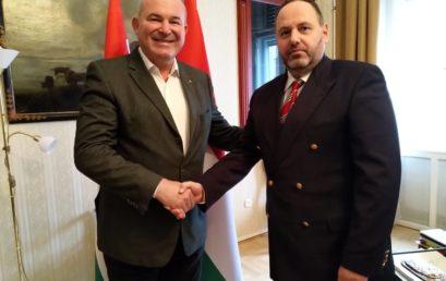 A BZSH elnöke Szalay Bobrovniczky államtitkárral találkozott