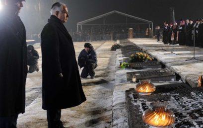 A túlélésért folytatott harc jegyében nyitották meg a Jad Vasemben a holokauszt izraeli emléknapját