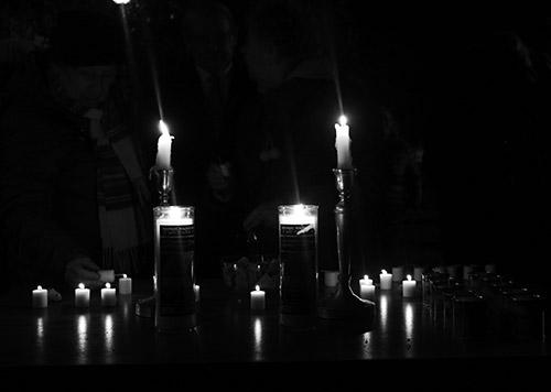 A 75 éve felállított pesti gettó évfordulója alkalmából tartottak megemlékezést a Klauzál téren