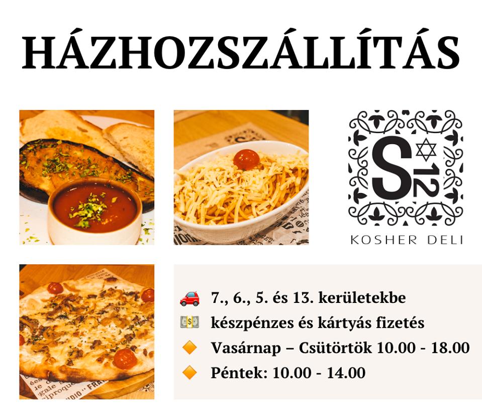 Koronavírus idején se maradjon le a Kosher Deli Budapest finom ízeiről – házhoz visszük