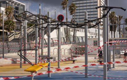 Szívszorongató! Tel-Aviv teljesen kihalt képét mutatja (Videóval)