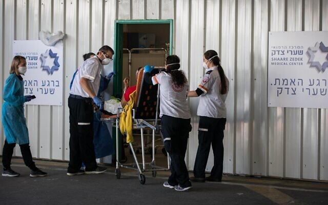 Több mint harminc százalékkal nőtt a kórházban kezelt korona fertőzöttek száma Izraelben