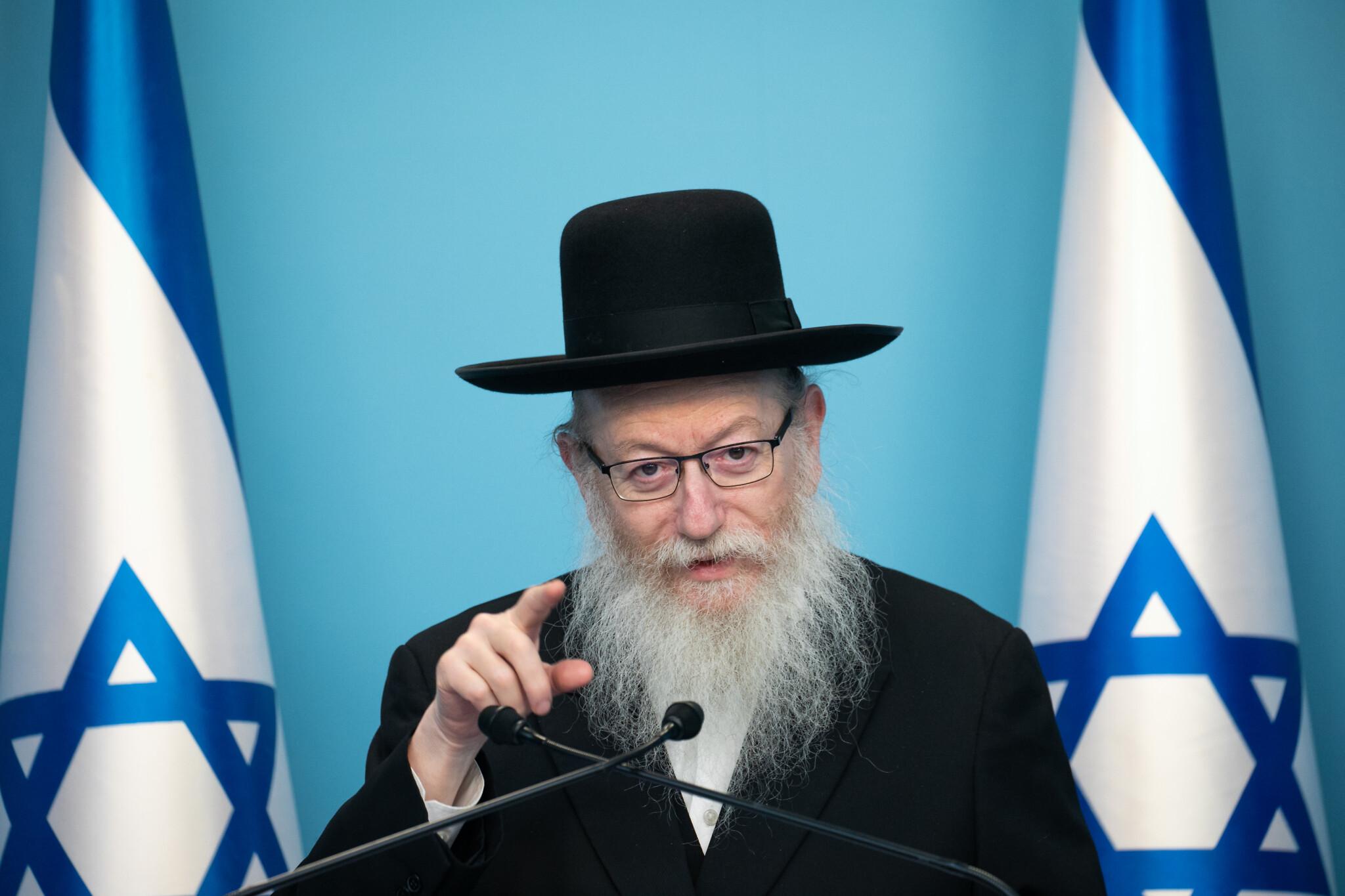 Távozhat posztjáról az izraeli egészségügyi miniszter