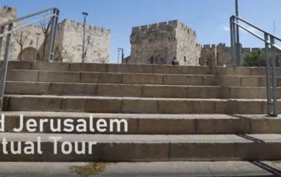 Most félórás virtuális sétát tehetnek az üres Jeruzsálemben (Videóval)