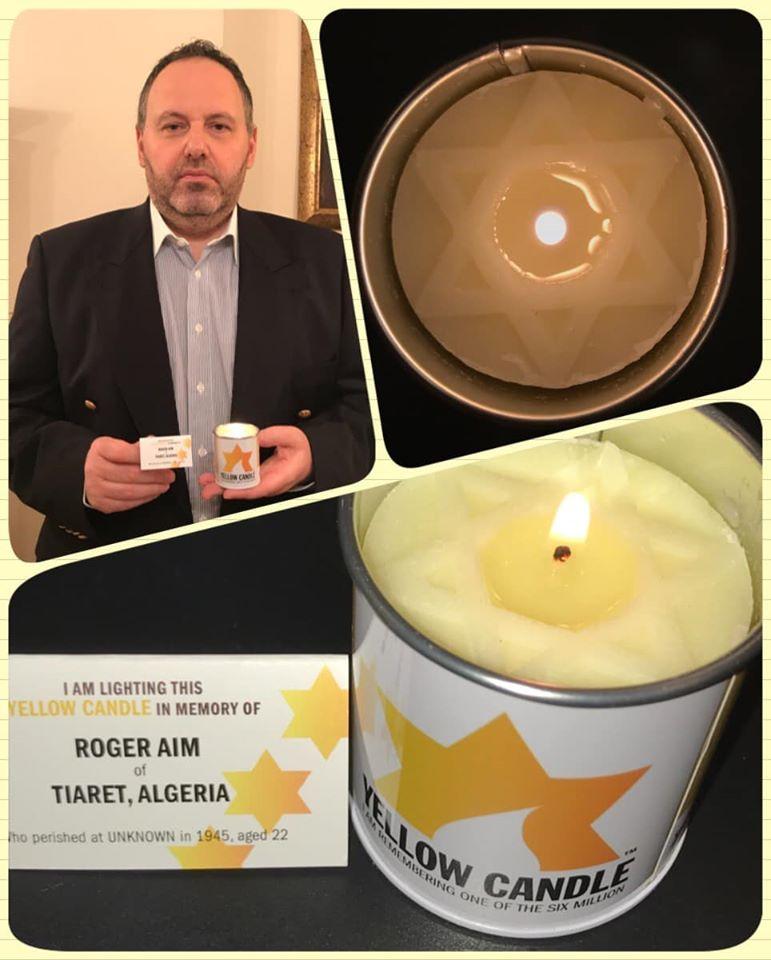 A BZSH elnöke is sárga gyertyával emlékezett a holokauszt áldozataira
