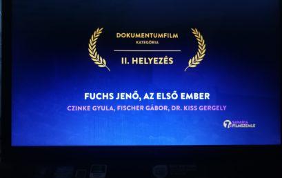 Második helyen díjazta a szakmai zsűri a Fuchs Jenőről szóló filmet a 7. Savaria Filmszemlén