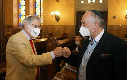 Újabb két budapesti zsinagóga nyitott meg