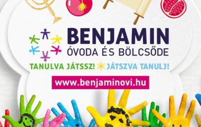 Továbbra is várja az apróságokat a BZSH Benjamin Óvoda és Bölcsőde