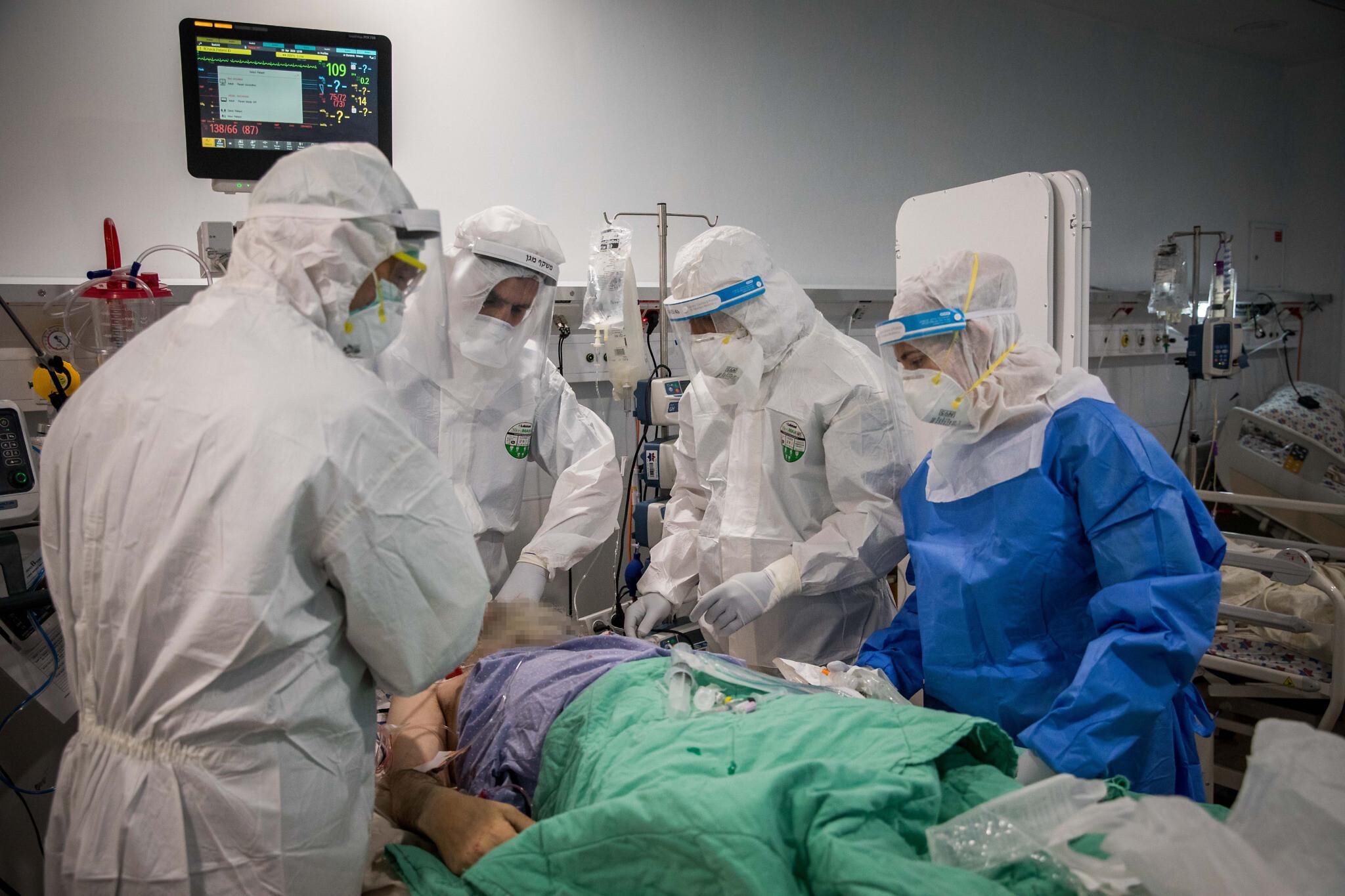 Négy izraeli kórházban már beteltek a koronavírus-osztályok
