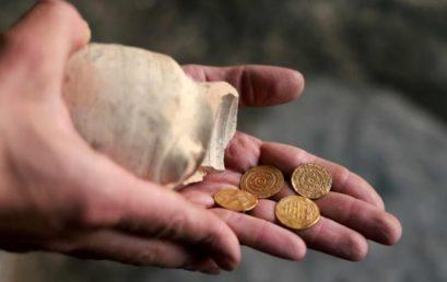 Több ezer éves aranyérméket találtak Jeruzsálem óvárosában