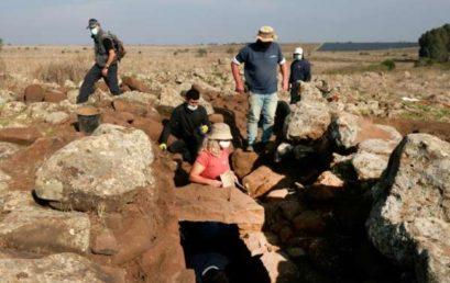 Háromezer éves várromot találtak a Golán-fennsíkon