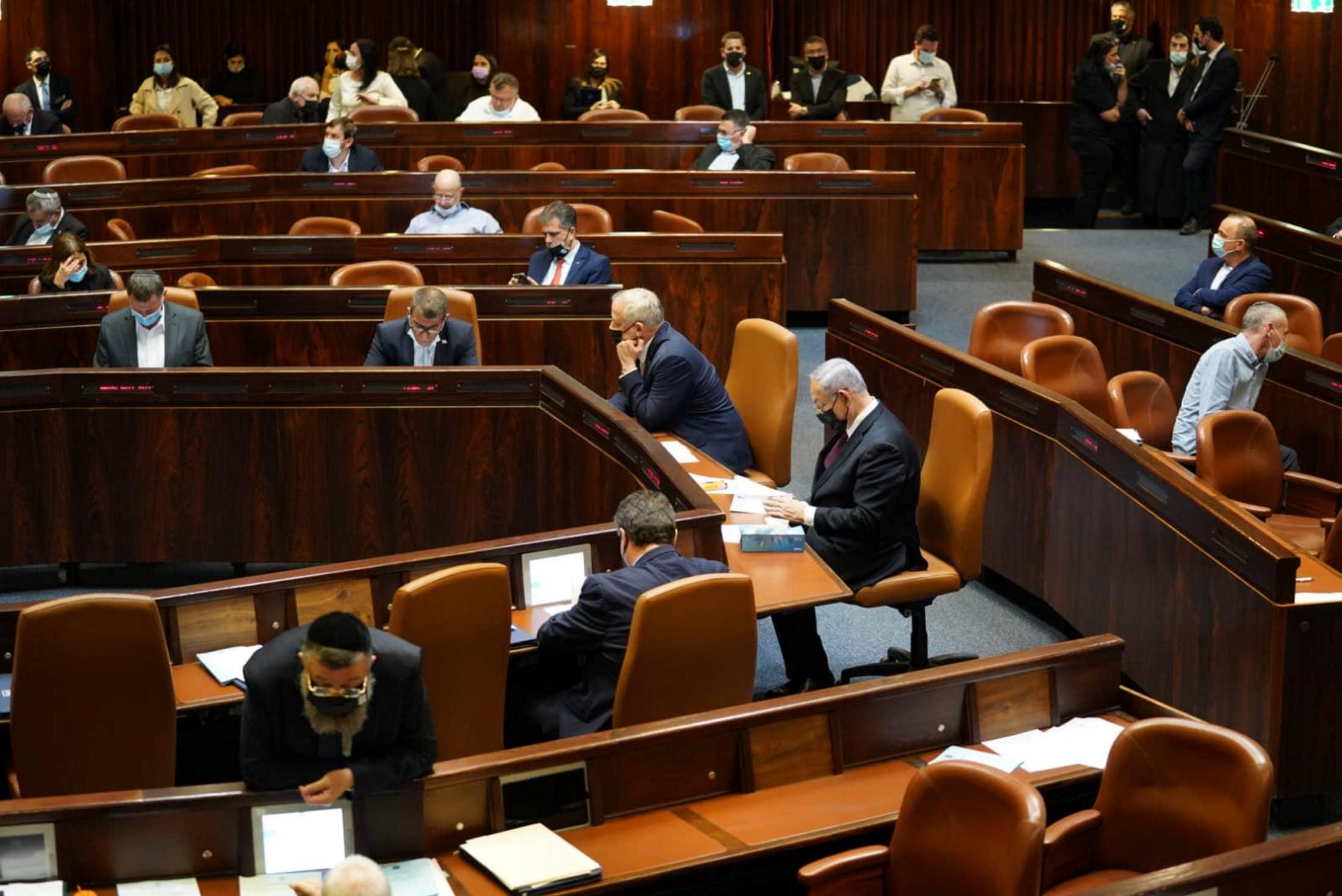 Az izraeli átmeneti kormány megszavazott öt új minisztert