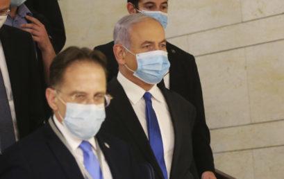 Július közepéig csúszik Netanjahu bírósági tárgyalásának folytatása